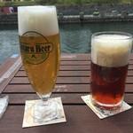 小樽倉庫No.1 - 運河とビールです。