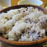 まる豚 - 十五穀米