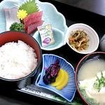 ショッパー桜川 - 【2016.7】お造り定食(500円)