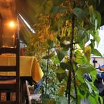 イル・ボッカローネ - テラス横の家庭菜園