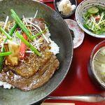 土佐屋 - 料理写真:和牛サーロイン丼(A5)1780円