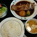 手作り洋食の店 ぱ・らんて - サーロインステーキセット