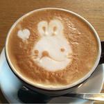 てんカフェ - ドリンク写真:カフェラテ¥570