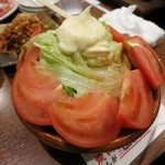 54269157 - ・「トマトサラダ(¥313)」
