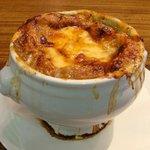 Cafeルパリジャン - オニオングラタンスープ