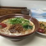 担々麺 信玄 - 半炒飯セット(+150円)