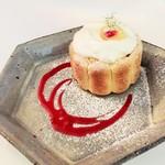 ニコラ - 季節のシャルロット 桃と白餡