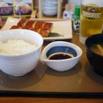 やよい軒 - 料理写真:うなぎの蒲焼き定食~☆