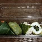 ゐざさ - ゐざさ寿司(さけ)・柿の葉すし(さば)・桜すし(たい)・山菜巻