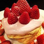 ハレバレ - いちごパンケーキ