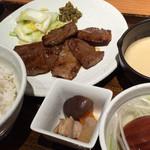 青葉苑 - 和牛焼きたれ焼き定食
