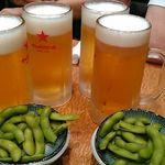 長寿庵 - ★2016・7再訪 乾杯生ビール