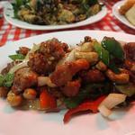 54284508 - 鶏肉とカシューナッツ炒め