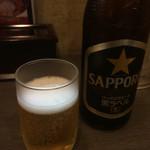 54284953 - 瓶ビールはサッポロでした