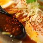 らーめん札幌直伝屋 - スープ