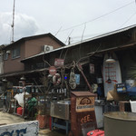PIER 34 NORTH - 川〜見た陸地