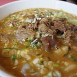 台湾四川料理 東華楼 - 料理写真:東華麺