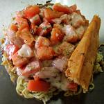 お好み焼 SETO - トマトチーズのお好み焼き