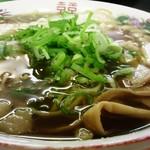 54299669 - 尾道ラーメン(平麺):620円
