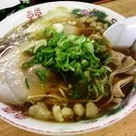54299672 - 尾道ラーメン(平麺):620円