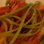 La Barca - セルバチコっていう野生アスパラの前菜