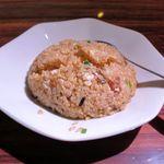 麺屋 しん - 半炒飯(250円)