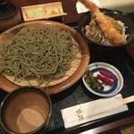 喉越しの蕎麦晴朗 - H28.07.10 海老天丼セット