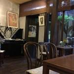 はせがわ珈琲店 - ピアノの有る風景