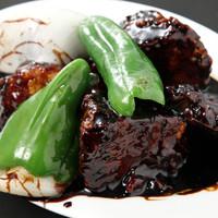 満州香 - 黒酢の酢豚