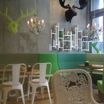 BUTTER&DEL'IMMO BAKERY CAFE - 店内です♪