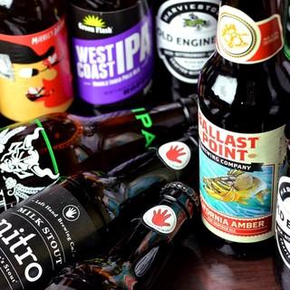 ボトル専門で取り揃えた多彩なクラフトビールはいかがでしょうか