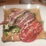 54308800 - たっぷり野菜と生ハム、チーズのガレット