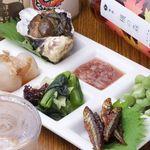 東京焼酎&梅酒bar GEN&MATERIAL - 全国から取り寄せた珍味やおつまみでお酒がすすみます