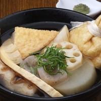 東京焼酎&梅酒bar GEN&MATERIAL - 和歌山おでん、健康食品梅酢を使ったこだわりの一品