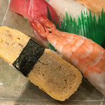回転寿司日本一 - 海老 玉子 ら
