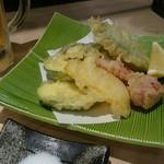 鳥ふじ - 夏野菜の天ぷら