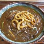 幸利屋 - カレーうどんZOOM(麺の様子)