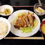 好味苑 - 好味苑 @本蓮沼 バンバンジー 300円 + ライスセット 200円(共に税込) ご飯少な目