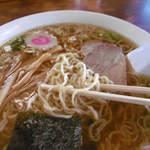 熊文 - 麺は細麺
