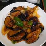 百香亭 - 麻婆茄子アップ