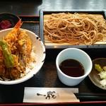 54329322 - 天丼とせいろ蕎麦(980円)