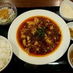 54329949 - 麻婆豆腐ランチセット