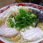 丸太小屋 - ニンニクラーメン(¥600