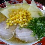 丸太小屋 - チーズラーメン(¥700