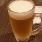 どんぶり稲生 中日ビル店 - 生ビール