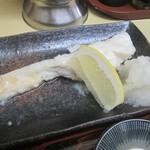 扇家食堂 - 生タラのバター焼き