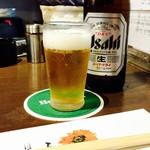 魚 串 BAR - キンキンに冷えたビールは最高♡