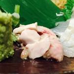 魚 串 BAR - カワハギの肝♪甘くてネットリ!!旨いわ~