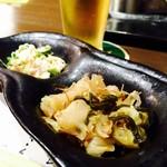 魚 串 BAR - 突出し!!なかなか良いお味でした♪