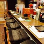 魚 串 BAR - カウンター席
